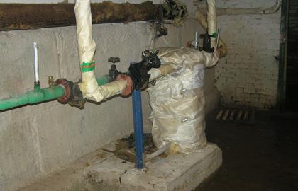 Экспертиза отопления в подвале