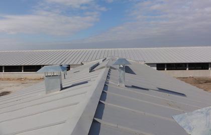 Обследование крыши здания
