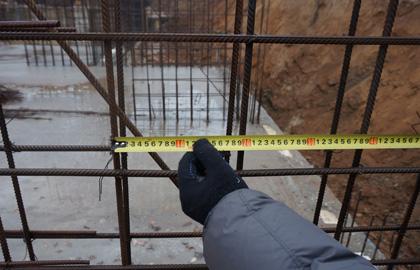 Обследование армирования монолитных конструкций